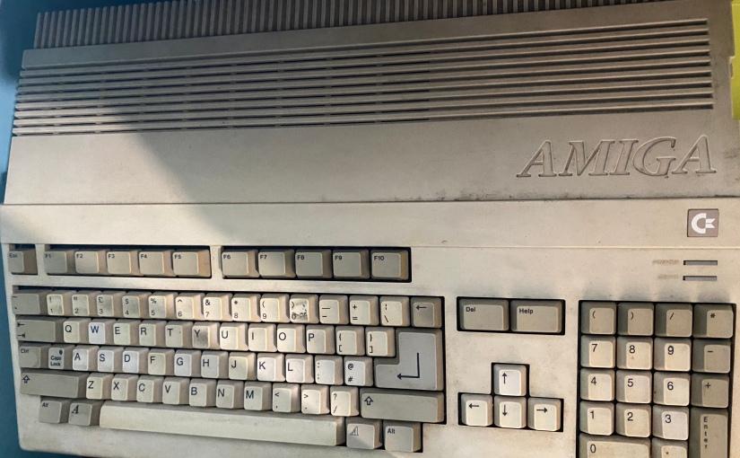 Restoring an Amiga 500, part1